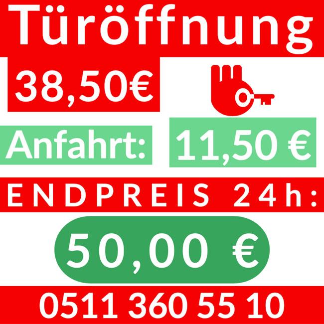 Schluesseldienst Hannover Nordstadt FestPreise